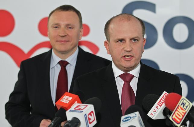 Tomasz Górski i Jacek Kurski