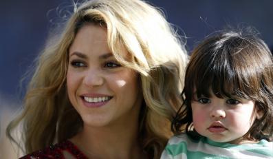 Shakira ze swoim ślicznym synkiem Milanem