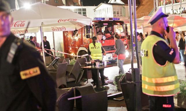 Szaleniec samochodem zmasakrował tłum ludzi na Monciaku. ZDJĘCIA z Sopotu