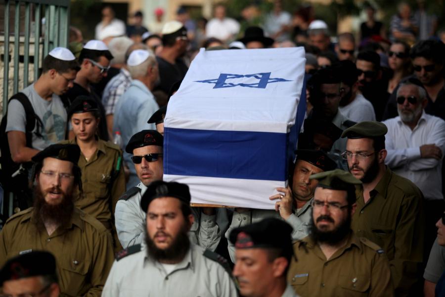 Pogrzeb izraelskego żołnierza