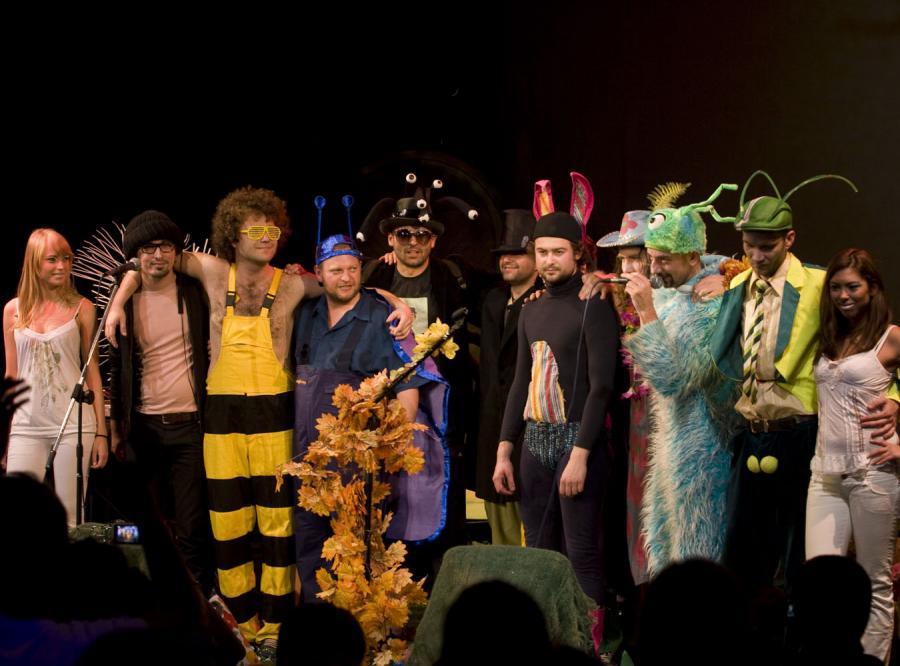 Funky stonki z łąki w Teatrze na Woli