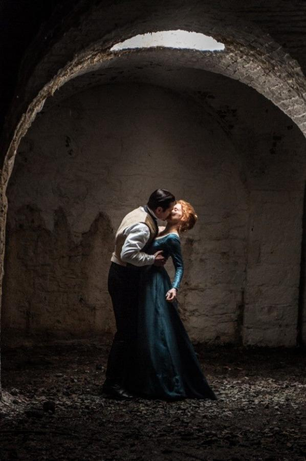 "Jessica Chastain i Colin Farrell w filmie ""Miss Julie"""