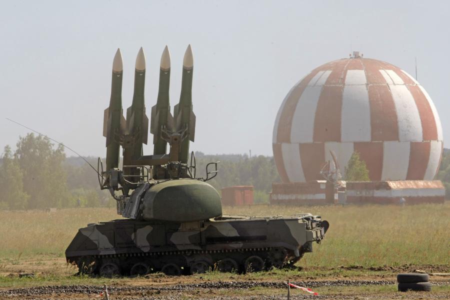 Rosyjski system rakietowy BUK, jakim najpewniej strącono malezyjskiego boeinga