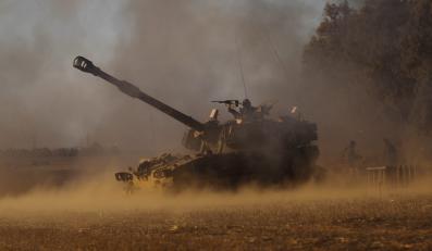 Izraelskie siły ostrzeliwują Strefę Gazy