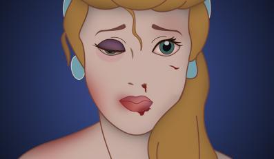 """Pobite księżniczki Disneya – praca z serii """"Happy Never After"""""""