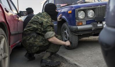 Zielone ludziki na Ukrainie