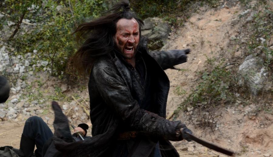 Nicolas Cage z Haydenem Christensenem w XII wieku