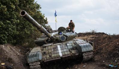 Czołg ukraińskiej armii