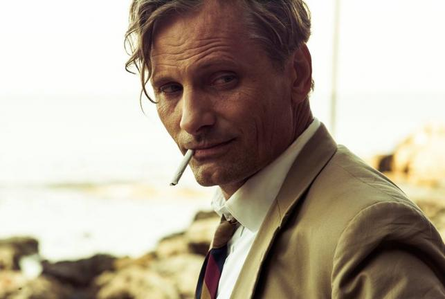 "Viggo Mortensen w filmie ""Rozgrywka"""