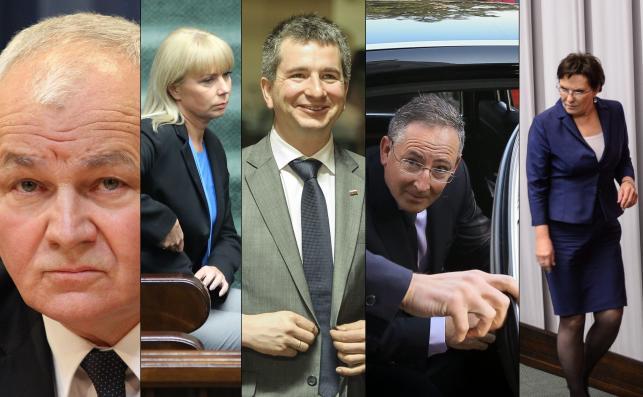 Jan Krzysztof Bielecki, Elżbieta Bieńkowska, Mateusz Szczurek, Bartłomiej Sienkiewicz, Ewa Kopacz