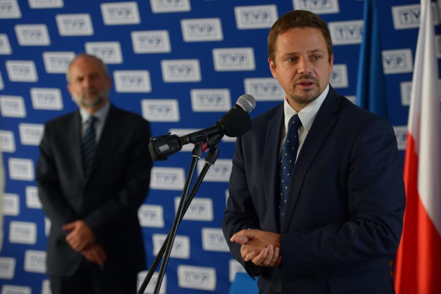 Minister administracji i cyfryzacji Rafał Trzaskowski