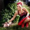 """Cleo i świnka na planie klipu do piosenki """"Brać"""""""