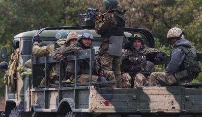 Wojska ukraińskie w Debalcewie