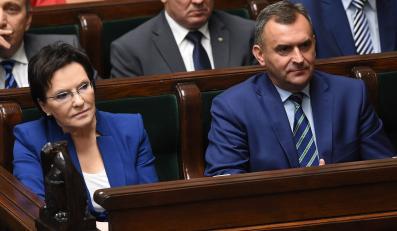 Ewa Kopacz i Włodzimierz Karpiński