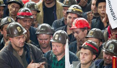 Górnicy z kopalni Kazimierz Juliusz