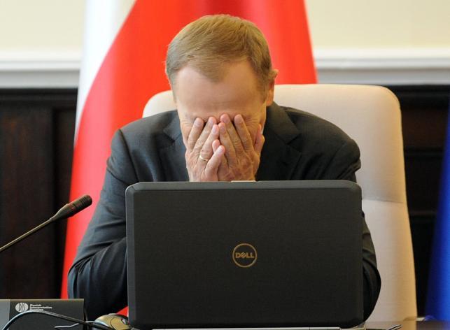 1. MIEJSCE: Przewodniczący Rady Europejskiej Donald Tusk