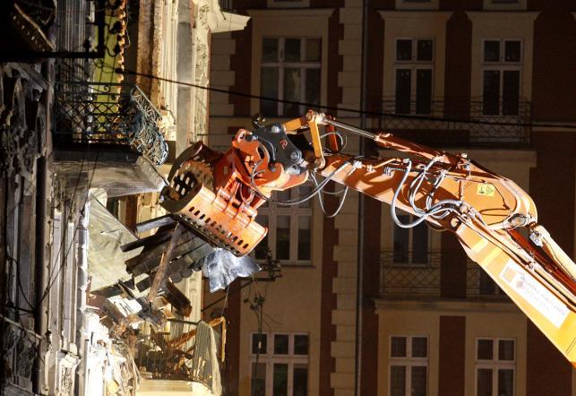 Wybuch gazu w Katowicach. Runęła trzypiętrowa kamienica