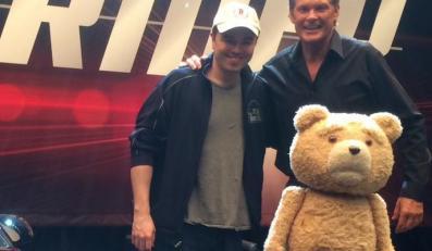 Seth MacFarlane, David Hasselhoff i Ted