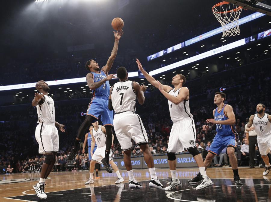 Brooklyn Nets - Oklahoma City Thunder 116:85