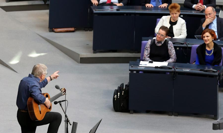 Wolf Biermann w Bundestagu