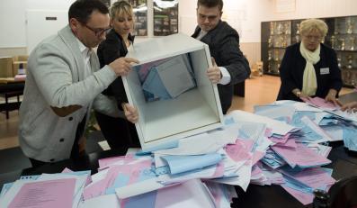 Liczenie głosów w wyborach samorządowych