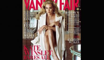 Naga Kate Winslet na okładce Vanity Fair