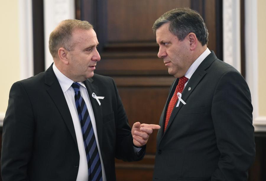 Grzegorz Schetyna i Janusz Piechociński
