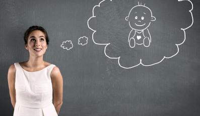 Kobieta planuje dziecko