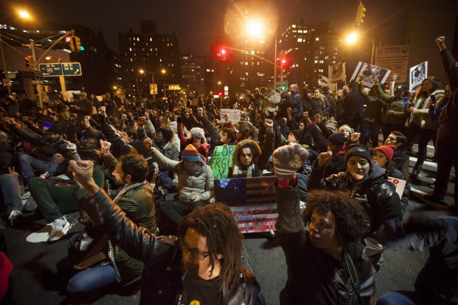 Protesty w Nowym Jorku
