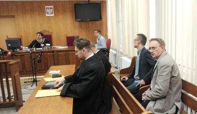 Dziennikarze w sądzie