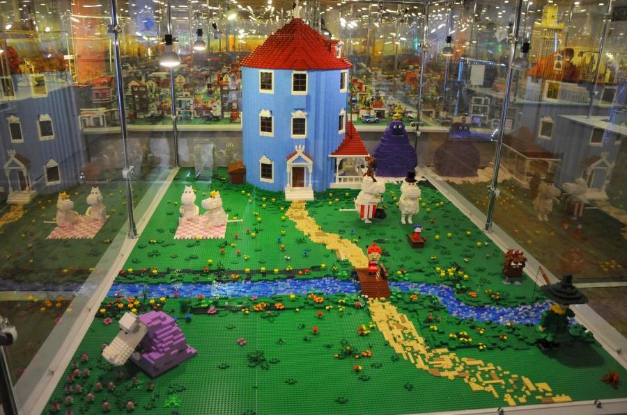 Muminki z klocków LEGO
