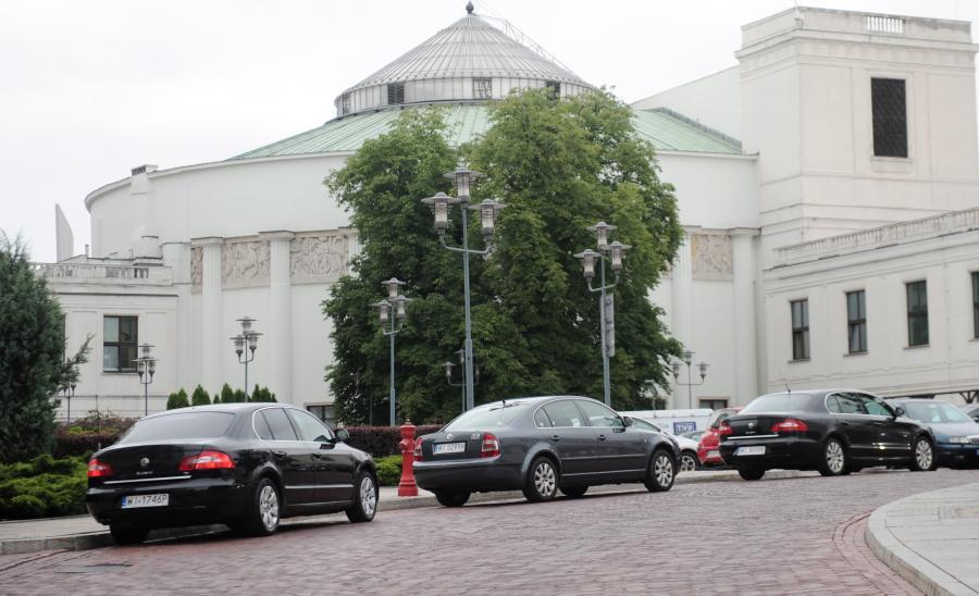 Sejmowe limuzyny