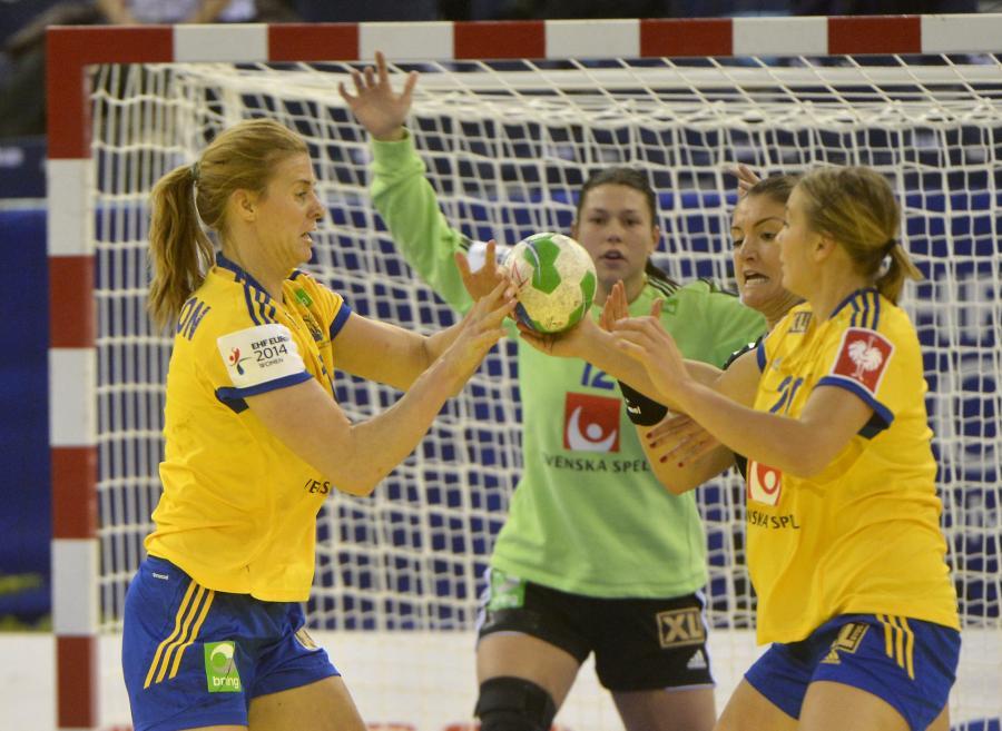 Piłkarki ręczne ze Szwecji