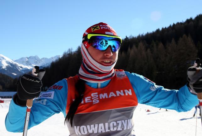 Justyna Kowalczyk podczas treningu w Val Mustair