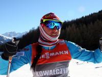 Justyna Kowalczyk trenuje przed kolejnym etapem Tour de Ski. ZDJĘCIA