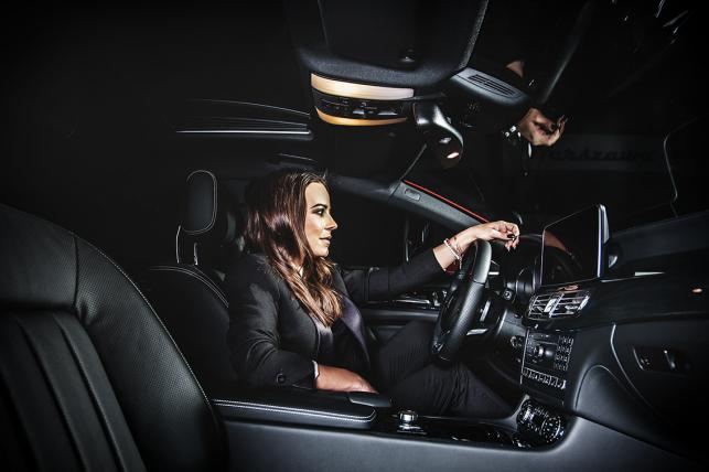Anna Mucha i Mercedes CLS Shooting Brake