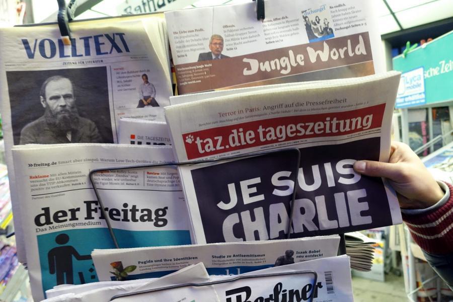 Prasa o zamachu w Paryżu