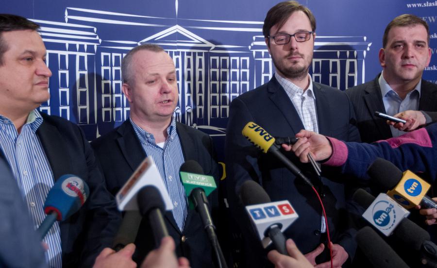Jacek Męcina, Wojciech Kowalczyk, Jakub Jaworowski, Rafał Baniak