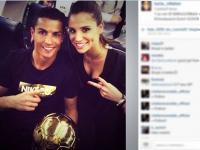 Cristiano Ronaldo już ma nową dziewczynę. Lucia Villalon piękniejsza od Iriny Shayk?