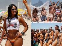 Zbuntowane Brazylijki. Chcą opalać się topless
