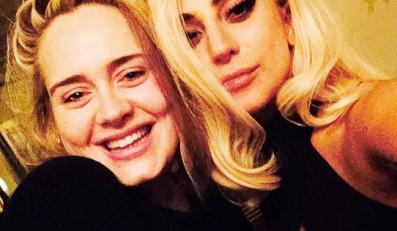 Adele (bez makijażu) i Lady GaGa jak malowana