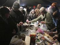 Dramatyczne sceny na Ukrainie. Ostrzelany szpital, ludzie ukrywają się w piwnicach