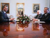 Prezydent spotkał się z ministrem finansów ws. zadłużonych we franku szwajcarskim