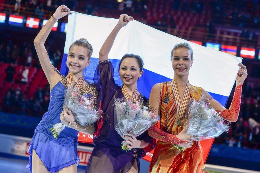 Jelena Rodionowa, Jelizawieta Tuktamyszewa i Anna Pogoriła