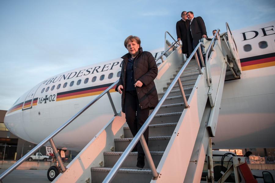 Angela Merkel w Waszyngtonie