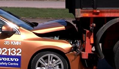 Oto koszmarna wpadka Volvo w czasie testu