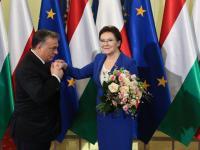 Viktor Orban u Ewy Kopacz. Polska premier przypominała o wspólnej historii. ZDJĘCIA