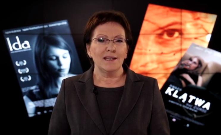 Ewa Kopacz w filmie KPRM