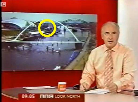 Zobacz UFO w telewizji BBC
