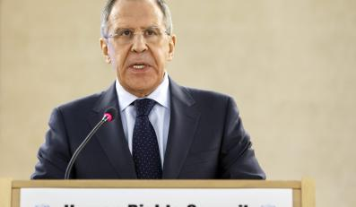 Szef rosyjskiego MSZ Siergiej Ławrow
